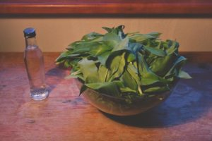 Wild Garlic Tincture Ingredients
